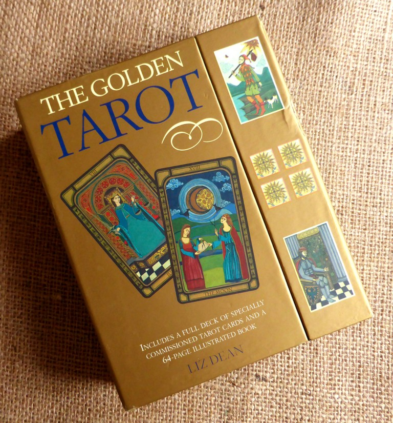BOX SET THE GOLDEN TAROT